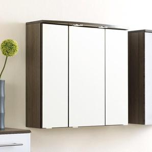 70 cm x 69 cm Spiegelschrank Marinello mit Beleuchtung