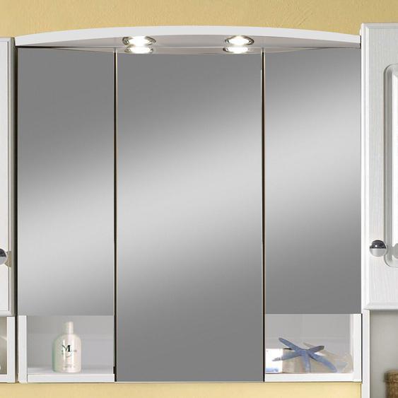 70 cm x 71 cm Spiegelschrank Catalina mit Beleuchtung