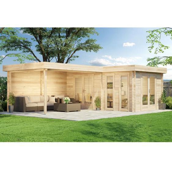 700 cm x 500 cm Gartenhaus Quinta