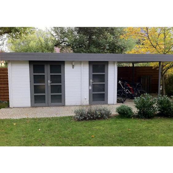 720 cm x320 cm Gartenhaus Modern
