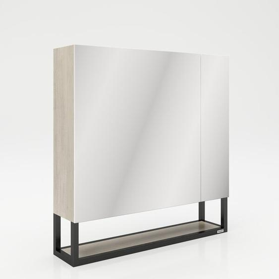 73 cm x 75 cm Spiegelschrank Jaclyn