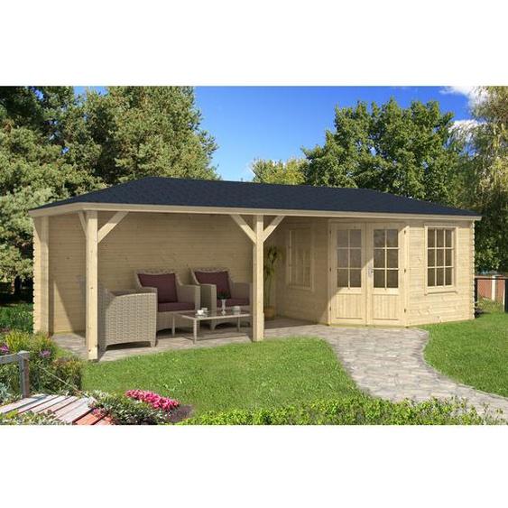 795 cm x302 cm Gartenhaus Mississippi