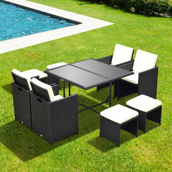 8-Sitzer Gartengarnitur Noirmont
