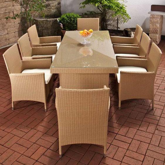 8-Sitzer Gartengarnitur Schlenker mit Polster