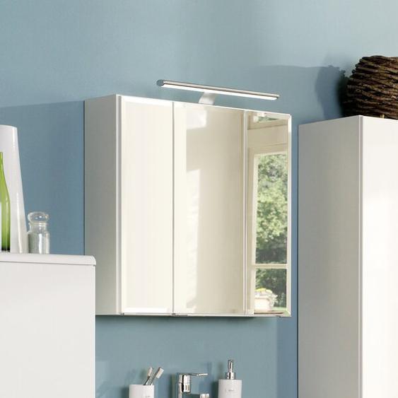 80 cm x 64 cm Spiegelschrank Dennison mit Beleuchtung