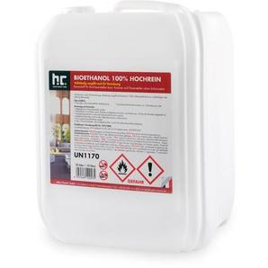 9 x 10 Liter Bioethanol Hochrein 100 % saubere und geruchsfreie Verbrennung - HöFER CHEMIE