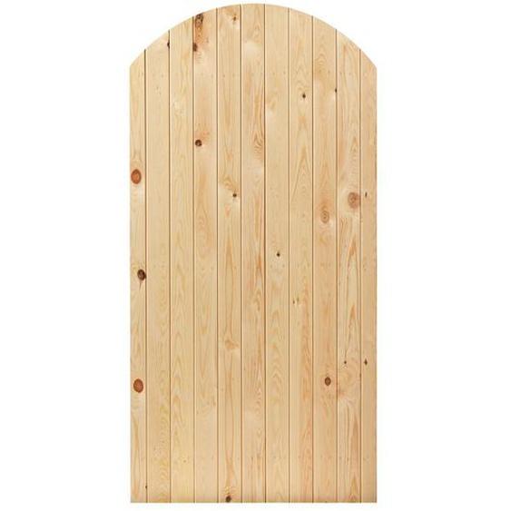 91 cm x 182 cm Tor Oxford aus Holz