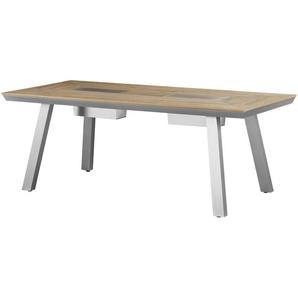 a casa mia Tisch  Kansas ¦ holzfarben ¦ Maße (cm): B: 93 H: 75