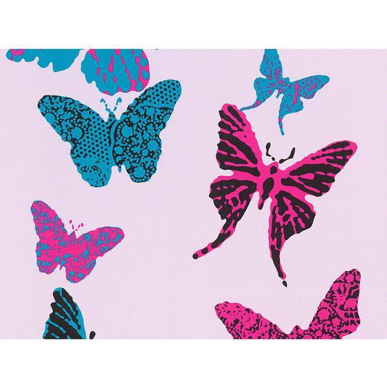 A.S. Creation Papiertapete Boys & Girls 5 Schmetterling Pink-Blau