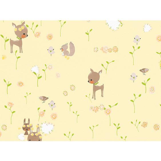 A.S. Création Papiertapete Boys & Girls 6 Bambi Gelb
