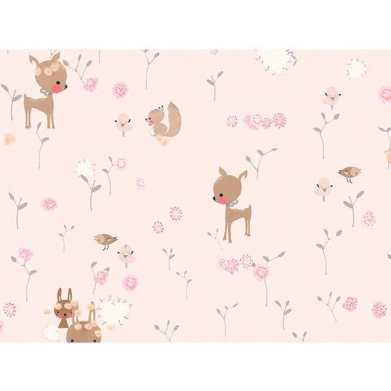 A.S. Création Papiertapete Boys & Girls 6 Bambi Rosa