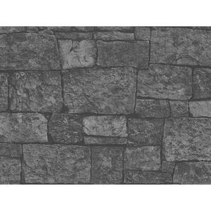 A.S. Création Vliestapete Best of Wood´n Stone Bruchstein Anthrazit