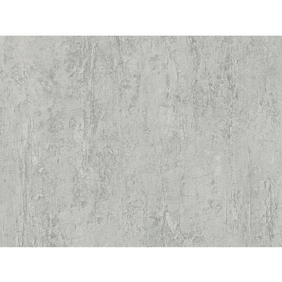 A.S. Création Vliestapete Best of Wood´n Stone Uni Betonputz Grau