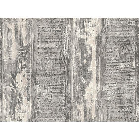 A.S. Création Vliestapete Best of Wood´n Stone Used Look Holz Taupe-Grau