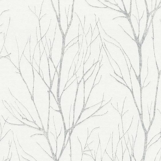 A.S. Création Vliestapete »Blooming in Ast Optik«, strukturiert, floral