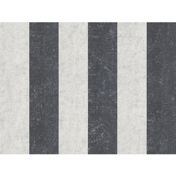 A.S. Creation Vliestapete Bohemian Burlesque Streifen Schwarz-Weiß
