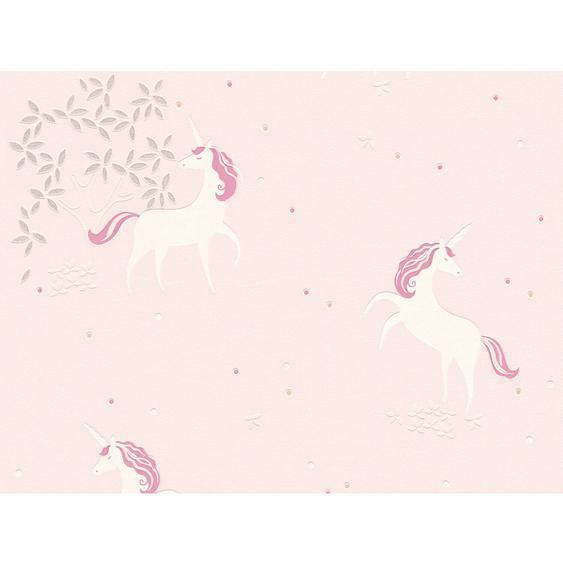 A.S. Création Vliestapete Boys & Girls 6 Einhorn Pink