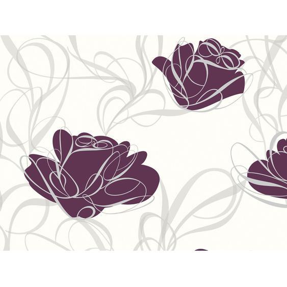 A.S. Creation Vliestapete Fairyland Blume Lila