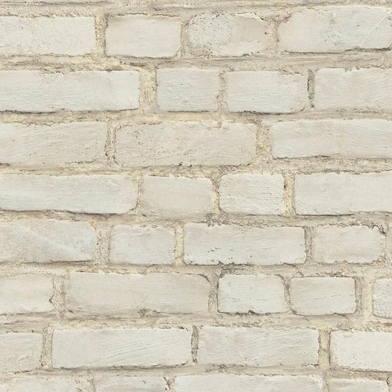 A.S. Création Vliestapete »Neue Bude 2.0 Stones & Structure in Vintage Backstein Optik«, gemustert