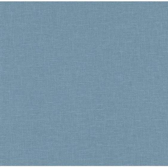 A.S. Creation Vliestapete Uni Linen Blau