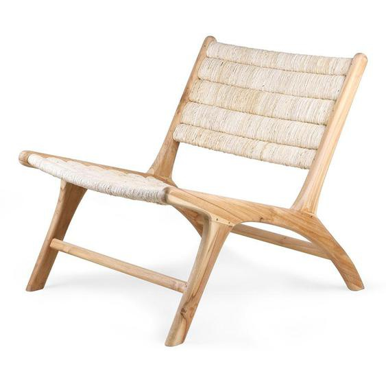 abaca/teak loungemöbel