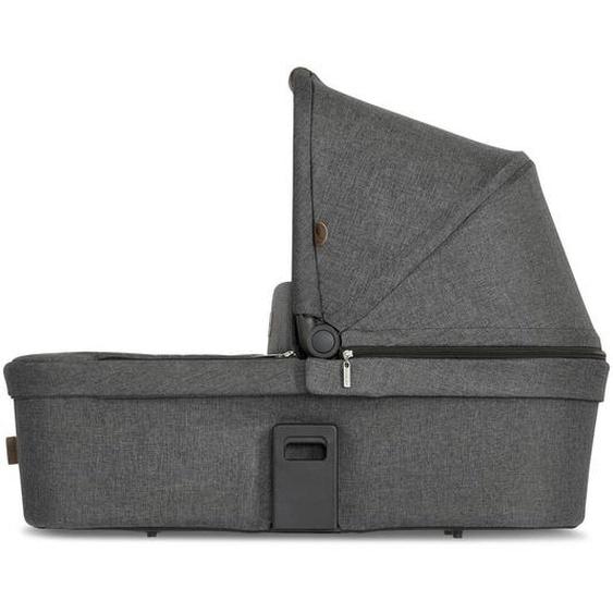 Abc Tragewanne Zoom , Grau, Schwarz , Textil , 33x65x84 cm