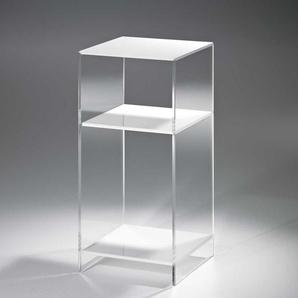 Ablagetisch aus Acrylglas Weiß