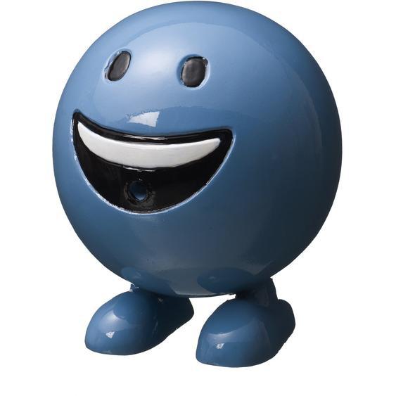 Acqua Arte BE Happy, blau H19 x Ø 16 cm
