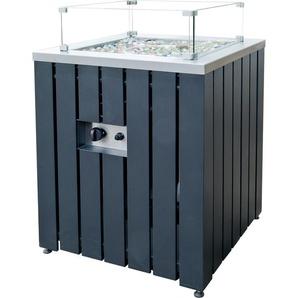 ACTIVA Gas-Feuerstelle Asano Anthrazit 60 x 60 x 61 cm
