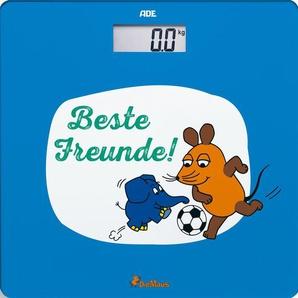 "ADE Personenwaage »BE1804«, Maus – Edition Abenteuer ""Fußball"""
