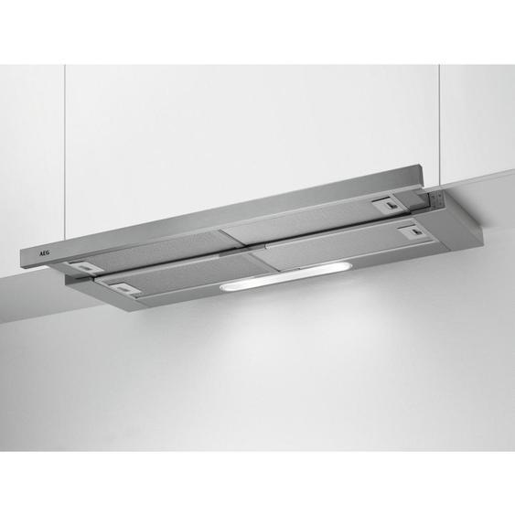 AEG Flachschirmhaube Dpb3931M , Silber , Metall , 89.8x39.5x28 cm