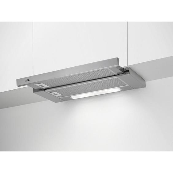 AEG Flachschirmhaube Dpb5652M , Silber , Metall , 59.8x39.5x28 cm