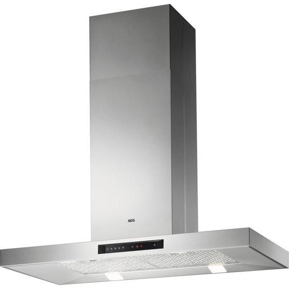 AEG Inselhaube Dib5160Hm , Silber , Metall , 100x71.4-96.4x60 cm