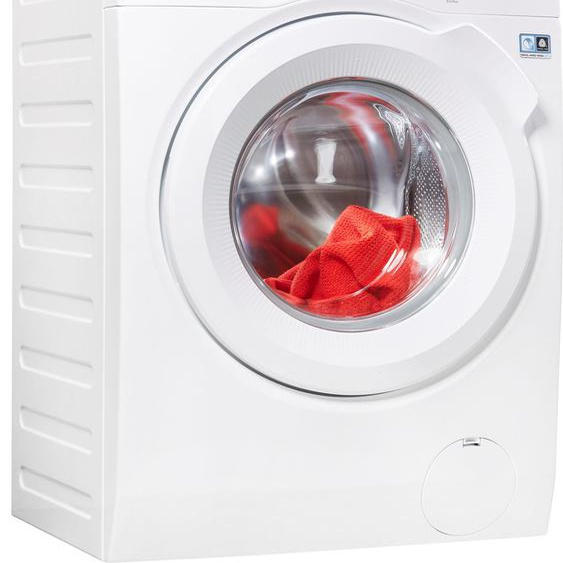 AEG Waschmaschine L6FBA484, 8 kg, 1400 U/min, ProSense - Intelligente Beladungserkennung, Energieeffizienz: E