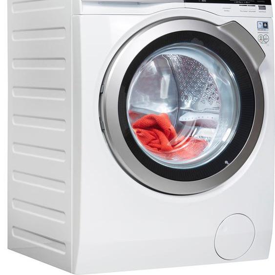 AEG Waschmaschine L7FE77485, 7000, 8 kg, 1400 U/min, ProSteam - Auffrischfunktion C (A bis G) Einheitsgröße weiß Waschmaschinen Haushaltsgeräte