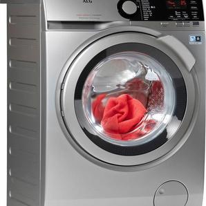 Waschmaschine LAVAMAT L7FE74485S, Fassungsvermögen: 8 kg, silber, Energieeffizienzklasse: A+++, AEG