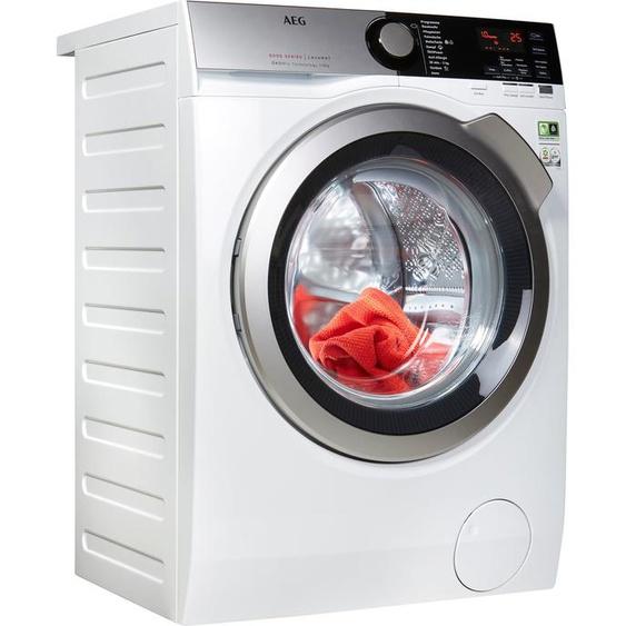 AEG Waschmaschine Serie 8000 LAVAMAT L8FE74485, 8 kg, 1400 U/min, ÖKOMix - Faserschutz, Energieeffizienz: B