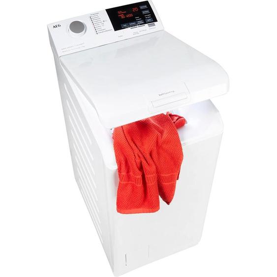 AEG Waschmaschine Toplader, L6TBA6270, 7 kg, 1200 U/min E (A bis G) Einheitsgröße weiß Waschmaschinen SOFORT LIEFERBARE Haushaltsgeräte Toplader