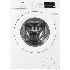 AEG Waschvollautomat  L6FB54470 - weiß - Metall-lackiert, Kunststoff - 60 cm - 85 cm - 57,6 cm   Möbel Kraft