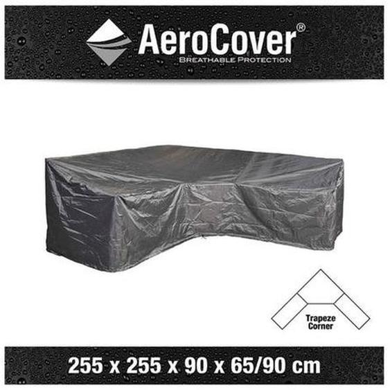 AeroCover Loungesethülle 255x255x90x65/90cm L-Form Dunkelgrau