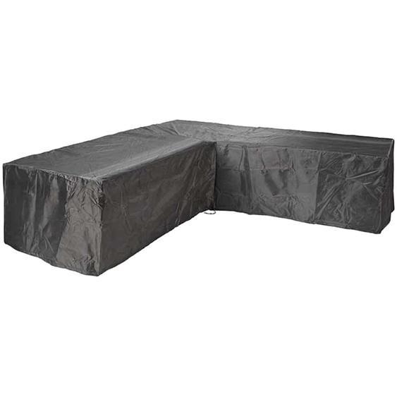 Aerocover Schutzhülle für Eck-Lounge 255 cm x 255 cm Anthrazit