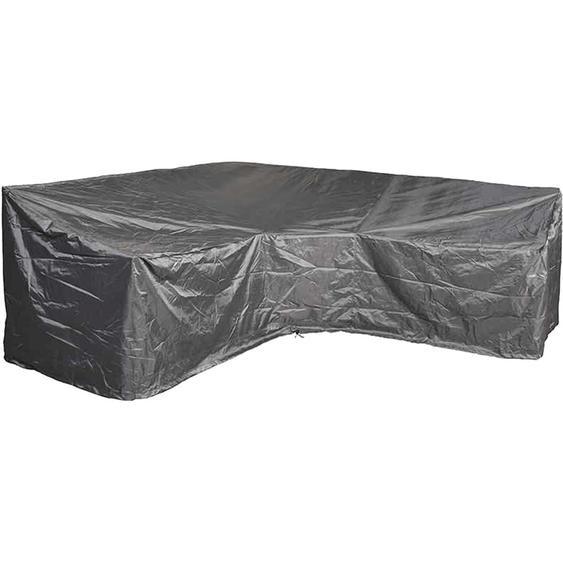 Aerocover Schutzhülle für Eck-Lounge 300 cm x 300 cm Anthrazit