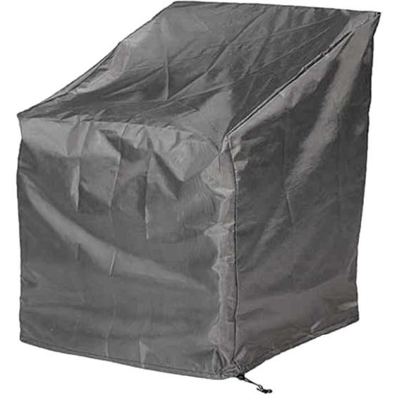 Aerocover Schutzhülle für Lounge-Sessel 65/110 cm x 78 cm x 75 cm Anthrazit