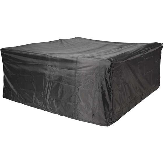 Aerocover Schutzhülle für Lounge-Sets 70 cm x 300 cm x 300 cm Anthrazit