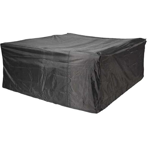 Aerocover Schutzhülle für Sitzgruppen 85 cm x 190 cm x 305 cm Anthrazit