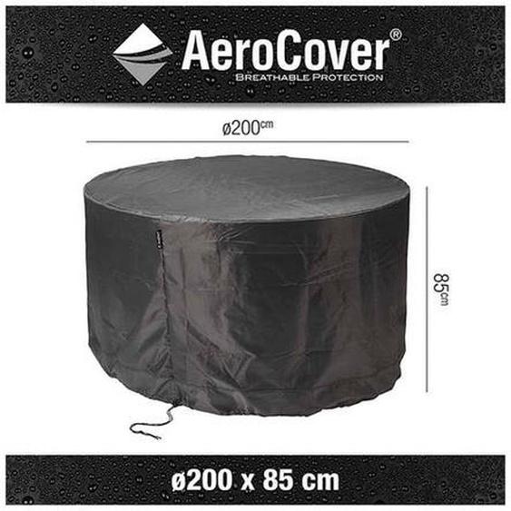 AeroCover Sitzgruppenhaube Ø200x85cm Dunkelgrau