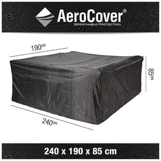 AeroCover Sitzgruppenhülle 240x190x85cm Dunkelgrau