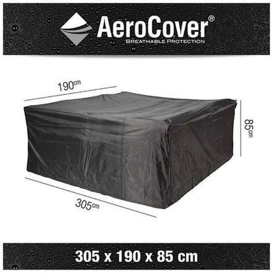 AeroCover Sitzgruppenhülle 305x190x85cm Dunkelgrau