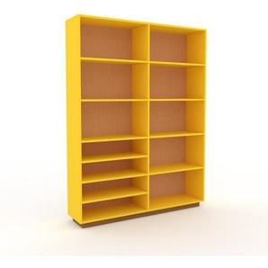 Aktenregal Gelb - Flexibles Büroregal: Hochwertige Qualität, einzigartiges Design - 152 x 200 x 35 cm, konfigurierbar