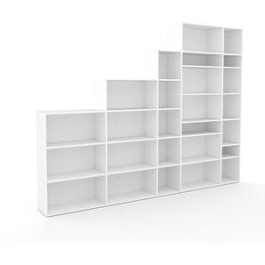 Aktenregal Weiß - Flexibles Büroregal: Hochwertige Qualität, einzigartiges Design - 303 x 233 x 35 cm, konfigurierbar